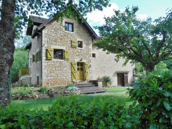 15KM AWAY NORTH FROM SARLAT, CLOSE TO MANY TOURISTIC SITES, CHARMING DOMAIN COMPOSED OF A STONE MAIN